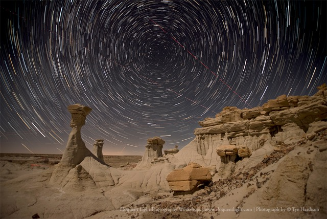 The Magical Bisti Badlands: Under the Stars and in the Landscape